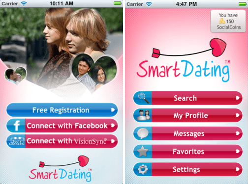 topp 10 iPhone apps för dating