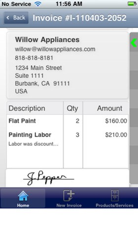 Review Of Invoice ASAP App For IPhone - Invoice asap