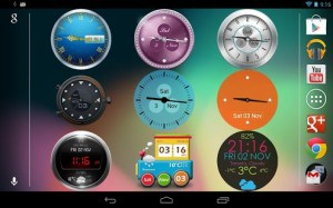 Beautiful Clock Widgets App for Android