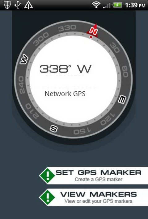gps navigation compass app for android review. Black Bedroom Furniture Sets. Home Design Ideas