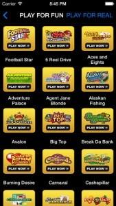 Vegas Paradise Casino App Games