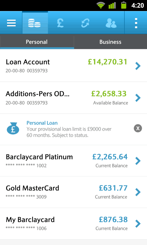 Barclays Mobile Banking App for Android Review
