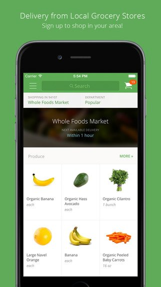 Instacart iPhone App