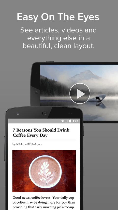 Pocket Android App