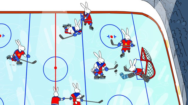 Bob And Bobek Ice Hockey Iphone Game App Review