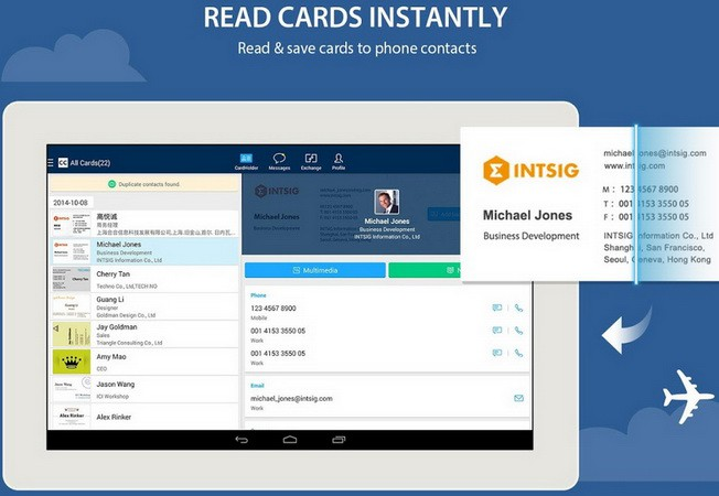 Camcard business card reader android app review camcard business card reader android app reheart