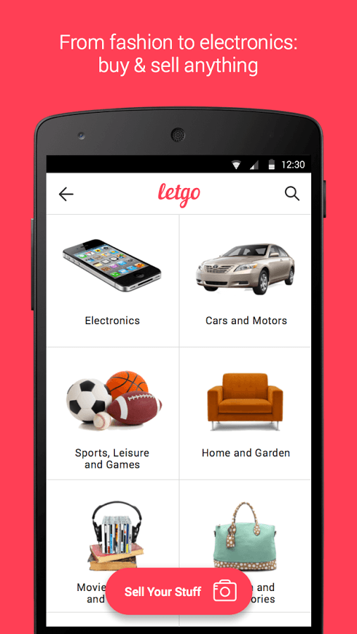 Android App For Buying Cars