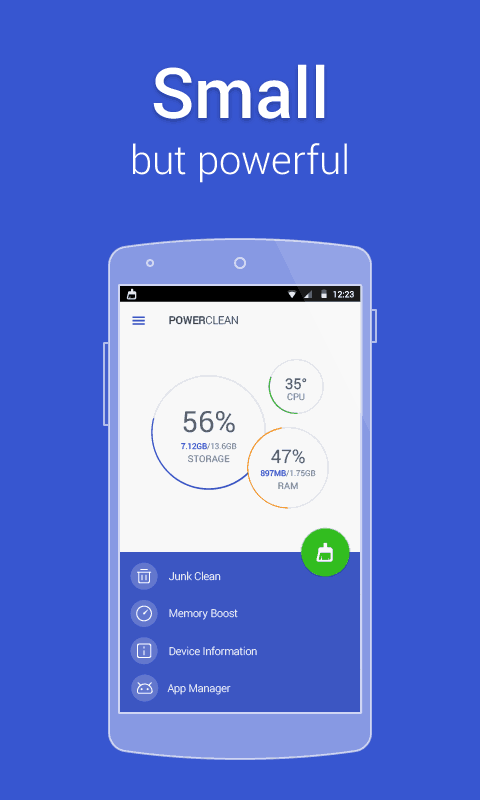 Power Clean Optimize Cleaner Android App Review
