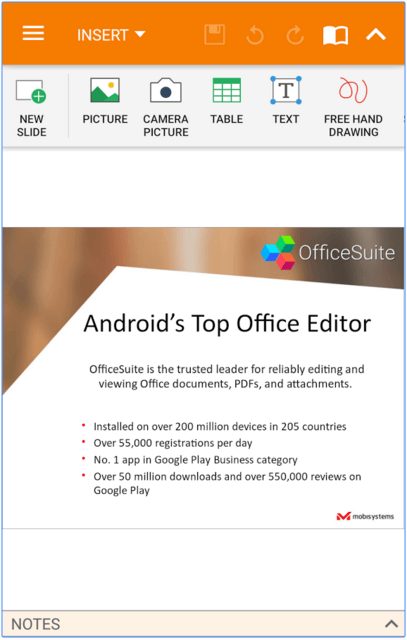 OfficeSuite + PDF Editor Android App Review