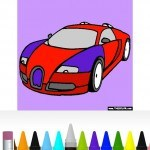 Vehicle Coloring Book Free Android App Review