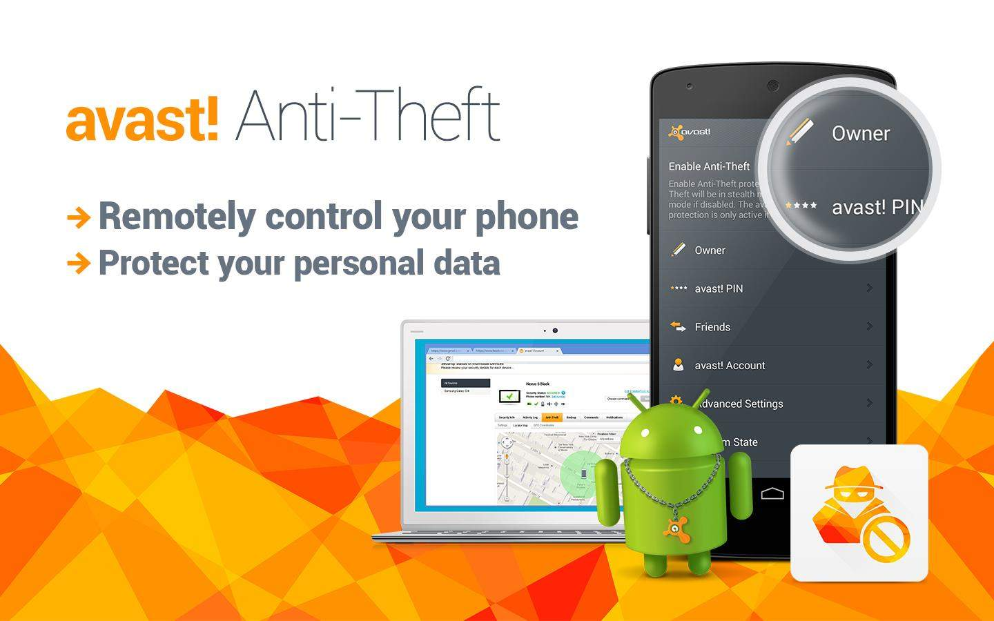 Image result for avast anti theft
