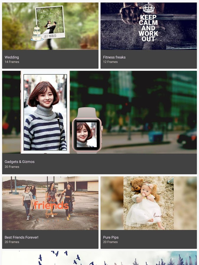 Lune - Photo Frames app for Android Review