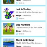 Rhymes For Kids Free iPhone App Review