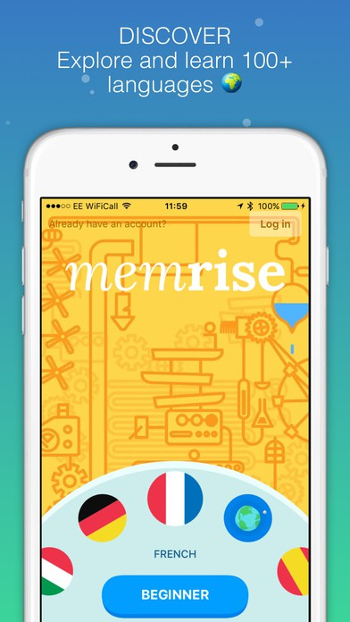 Memrise Learn Languages Free iPhone App Review