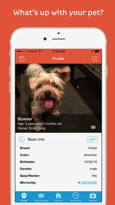 pawprint pet health tracker iphone app review