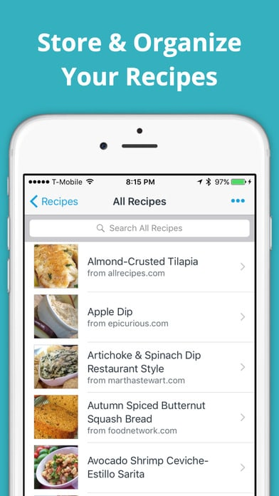anylist app for iphone is also a handy recipe aggregator you just got to find a recipe from any site and you can dump the ingredients into your list
