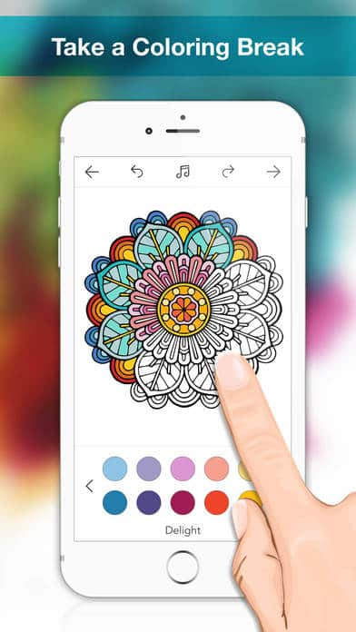 Coloringle Coloring Book IPhone App Review