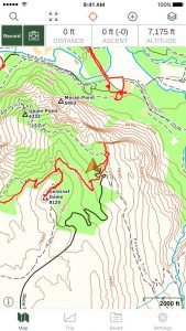 Gaia GPS Topo Maps Hiking Trails IPhone App Review - Topo maps app for iphone