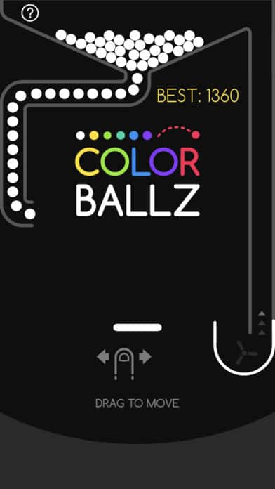 Color Ballz iPhone Game App Review