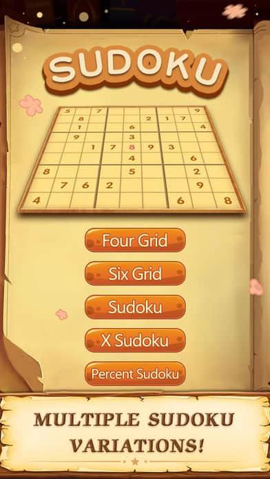 Sudoku Classic Number Games iPhone App