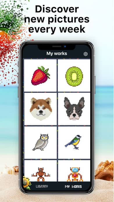 Color by Number: Pixel iPhone App Review
