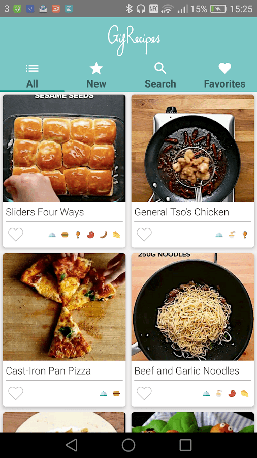 GIF Recipes Android App Review