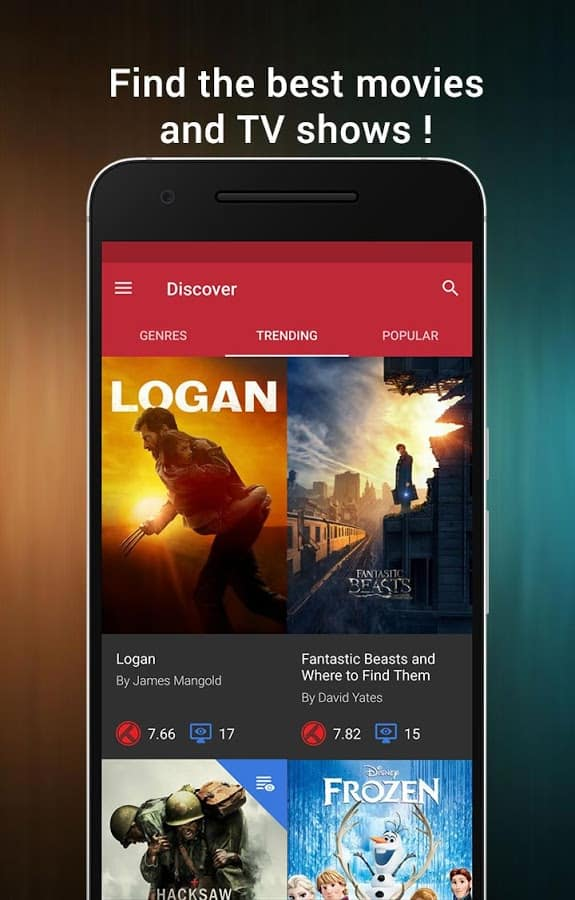 CineTrak Movie and TV Show Diary Android App Review