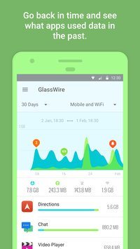 GlassWire Data Usage Monitor Android App Review
