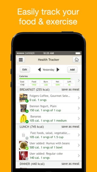 Fooducate - Nutrition Tracker iPhone App Review