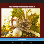 Christmas Puzzles Android Game App Review