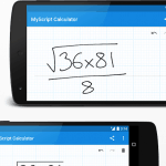 MyScript Calculator Android App Review