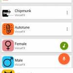 VoiceFX – Voice Changer Android App Review