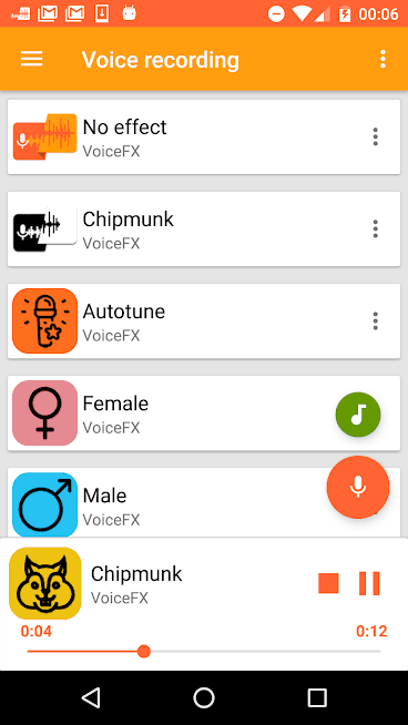 VoiceFX - Voice Changer Android App Review