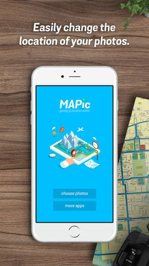 MAPic Geotag Location Editor iPhone App Review