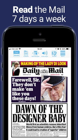 Mail Plus - Daily Mail iPhone App Review