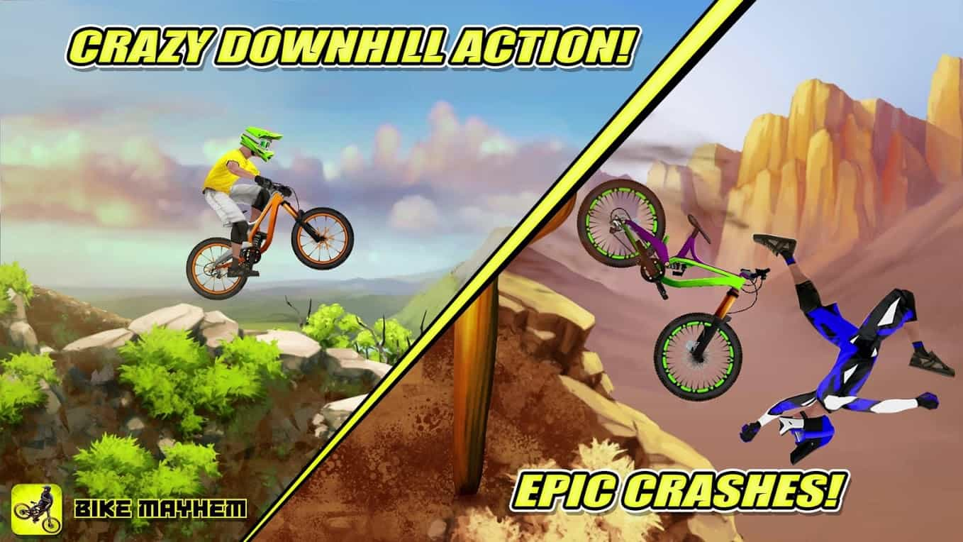 Bike Mayhem Mountain Racing Android Game App Review