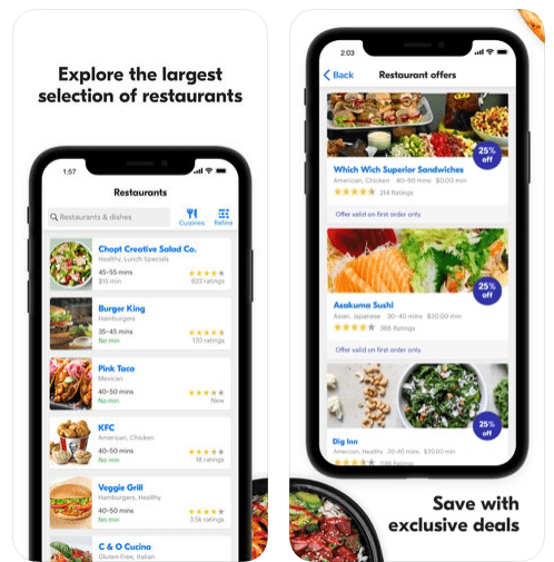Grubhub Local Food Delivery iPhone App Review