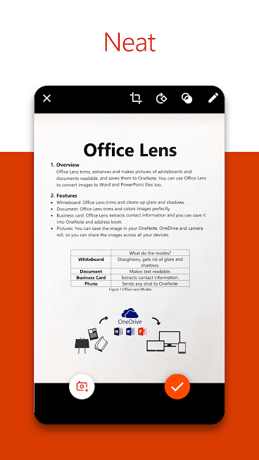 Microsoft Office Lens PDF Scanner Android App Review