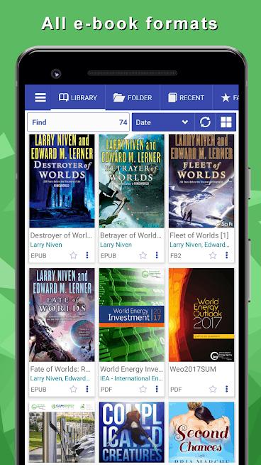 Librera - Book Reader of all formats & PDF Reader Android App