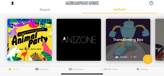 Animation Desk iPhone App Review