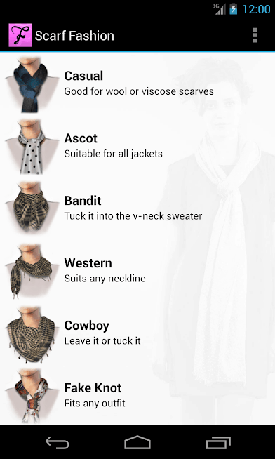 Scarf Fashion Designer Android App Review
