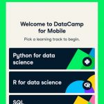 DataCamp Learn Python, SQL & R coding Android App Review
