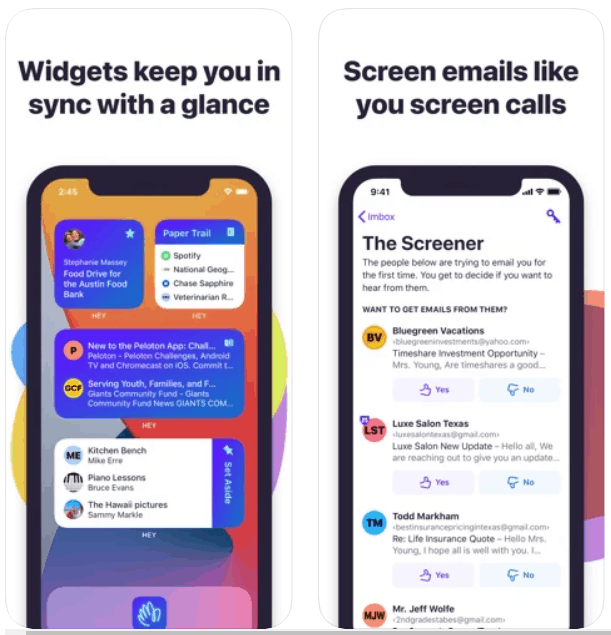 HEY Email iPhone App Review