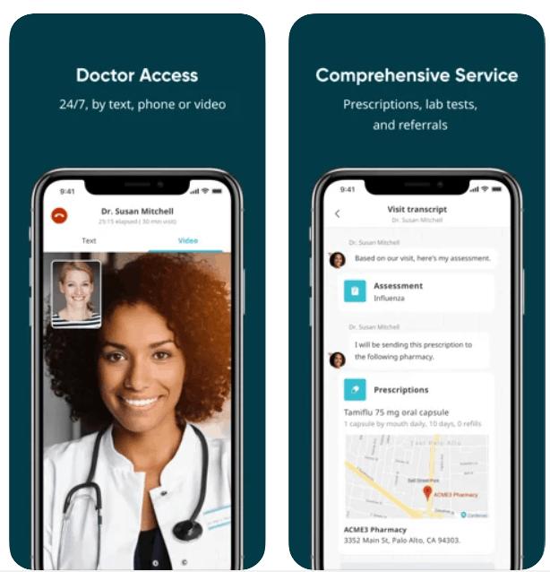 HealthTap Telemedicine iPhone App