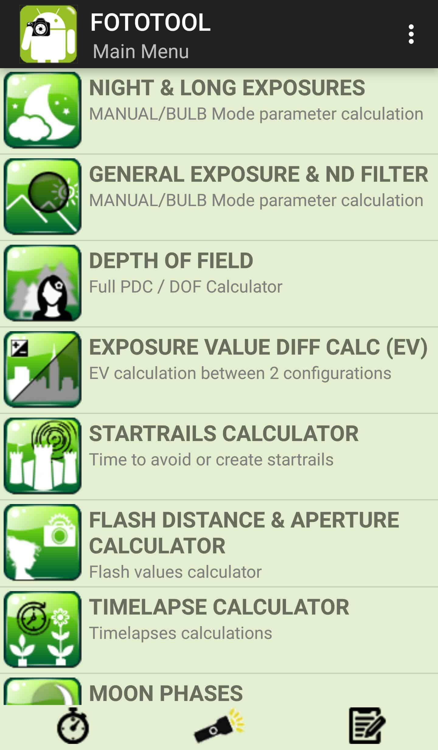 FotoTool - Photographer Tools Android App Review