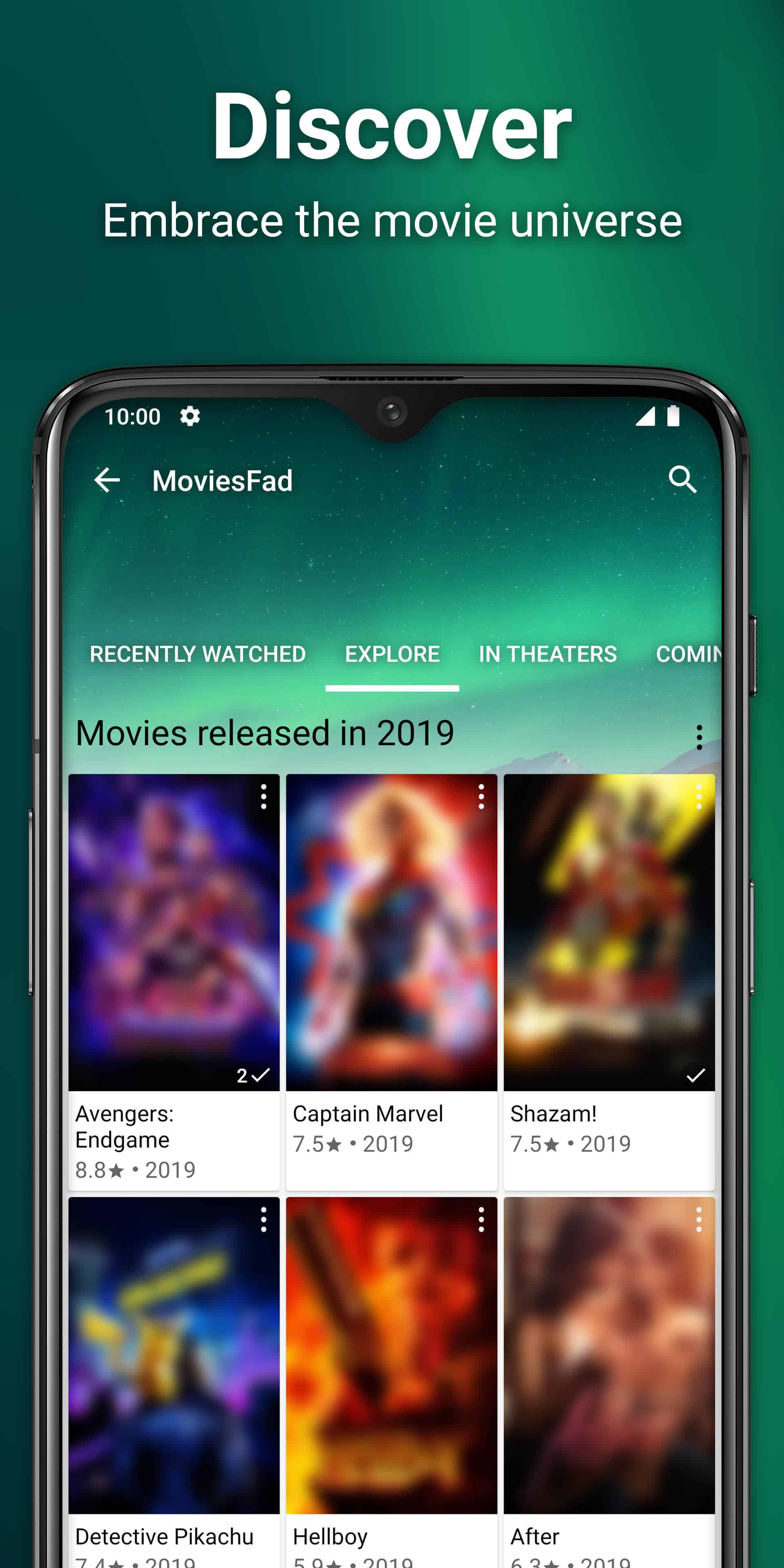 MoviesFad Your Movie Manager Android App Review