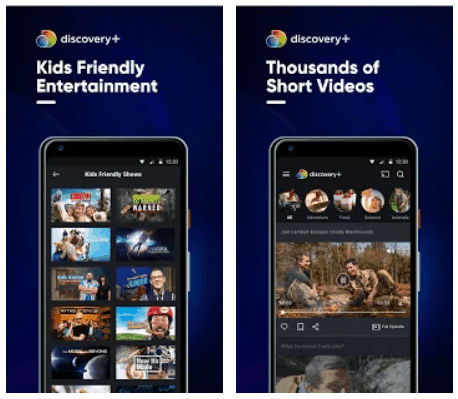 Discovery+ Video Streaming Android App