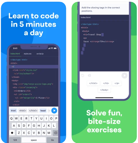 Mimo Learn Coding Programming iPhone App Review