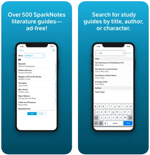 SparkNotes iPhone App Review