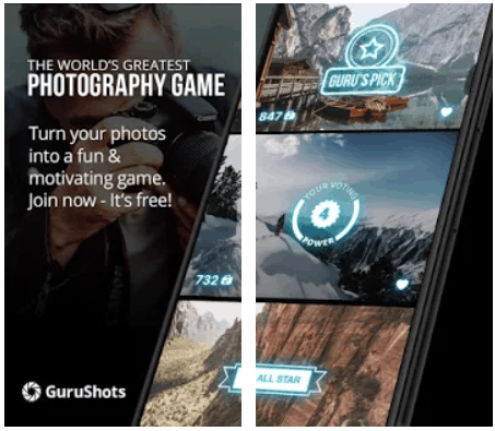 GuruShots Photography Game Android App Review